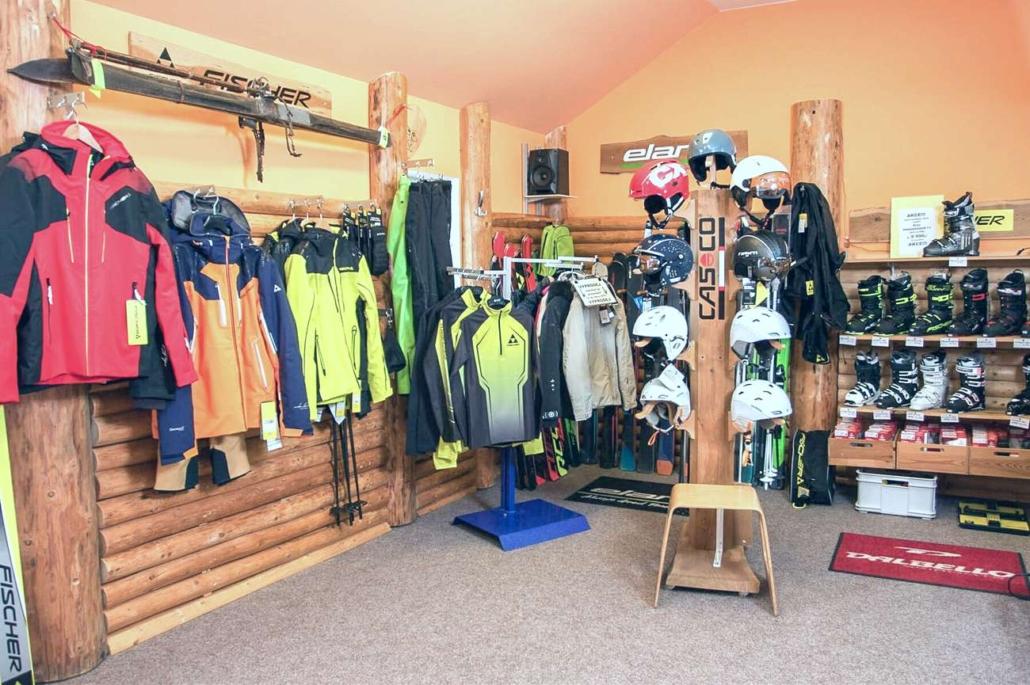 Ski servis LeoSki prodej lyžařského vybavení